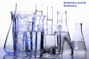 High key laboratory glassware